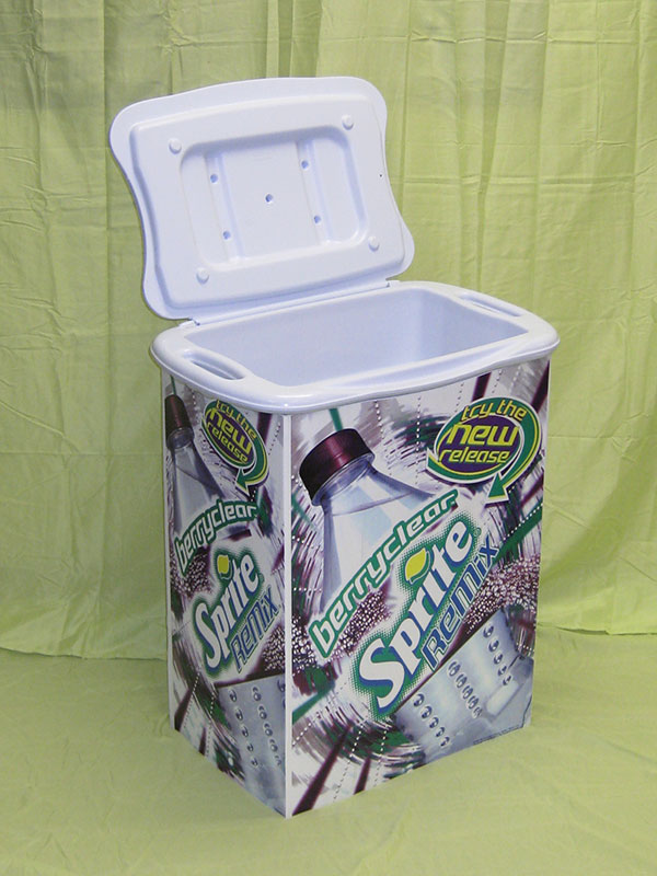 product example of cooler for sprite