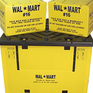 Wal-mart Custom Corrugated Plastic Products
