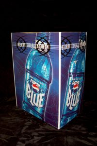 product example Pepsi blue