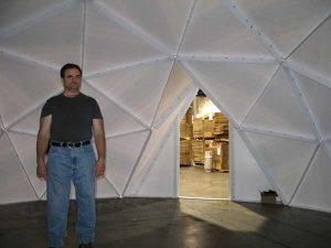product example Geo dome interior