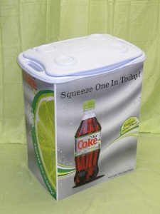 product example of cooler with close lid