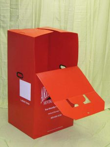 Plastic product example red moving wardrobe Eco friendly