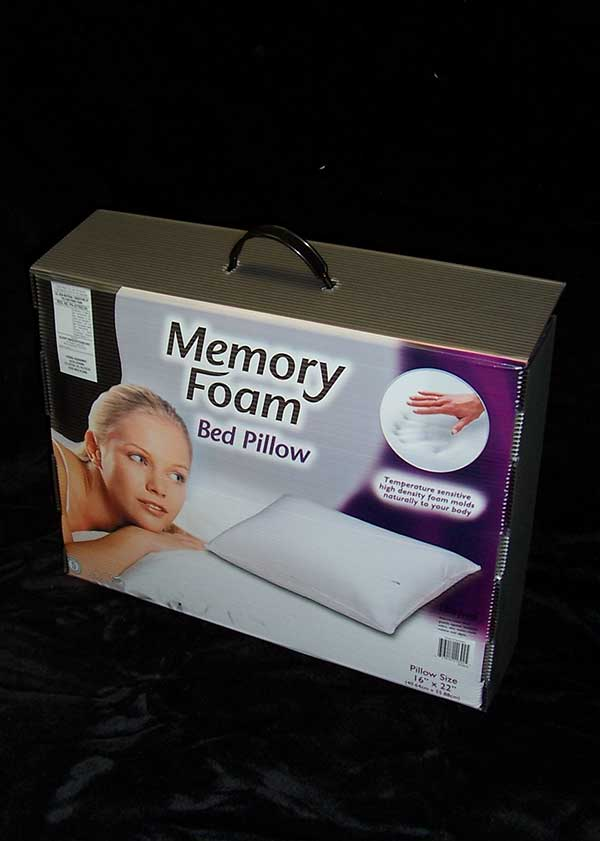 product example retail case memory foam