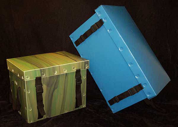 Product sample security trunk
