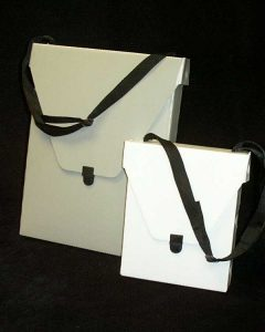 Rett (Pizza Box) Portfolio with handle