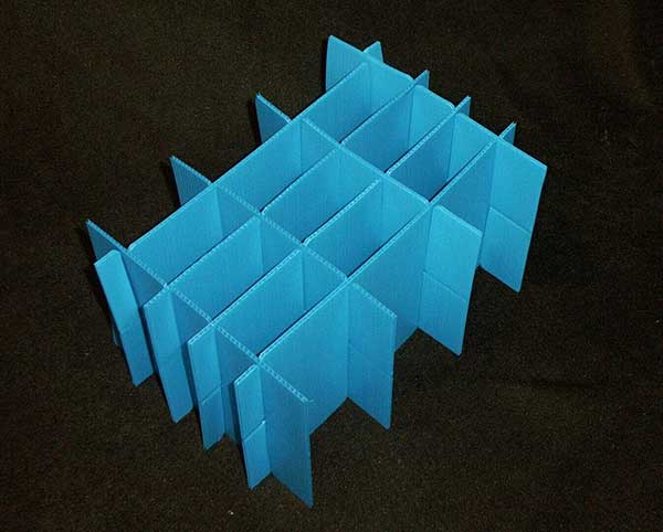 Plastic Partitions These are used to create dividers inside your tote/box