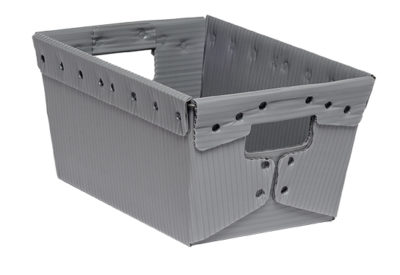 corrugated plastic box nestable totes KP-1530-Plastic Packaging Solutions Plastics