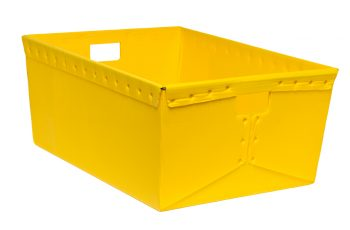 corrugated plastic box nestable totes KP-1531-Plastic Packaging Solutions Plastics