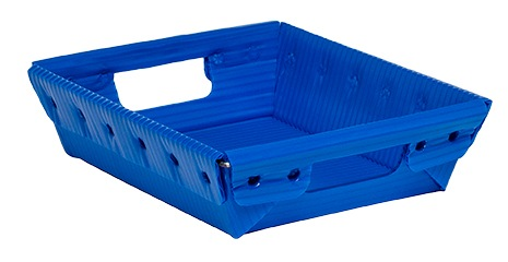 corrugated plastic box nestable totes KP-1532-Plastic Packaging Solutions Plastics