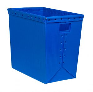 corrugated plastic box nestable totes KP-1540-Plastic Packaging Solutions Plastics
