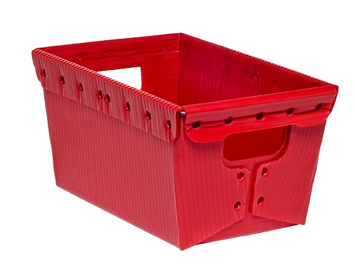 corrugated plastic box nestable totes KP-1541-Plastic Packaging Solutions Plastics