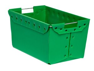 plastic corrugated Nestable Totes