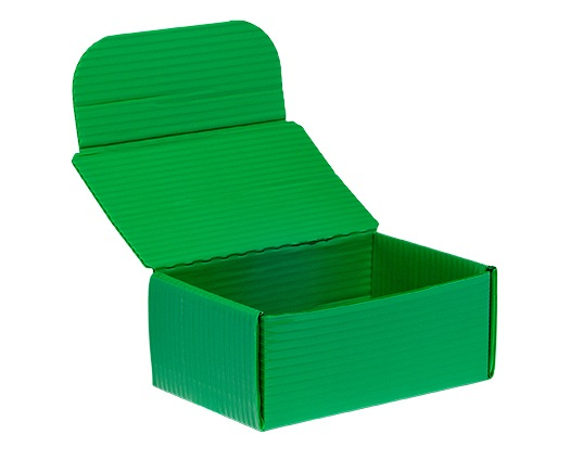 KP2519 – Green Roll End Lock Front Box with Velcro Closure