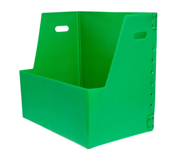 Green HSC box with cutout KP-2547-Plastic Packaging Solutions Plastics