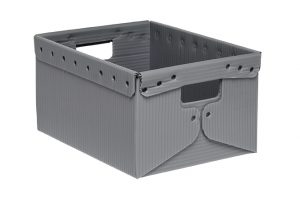 corrugated plastic Straight Wall Tote