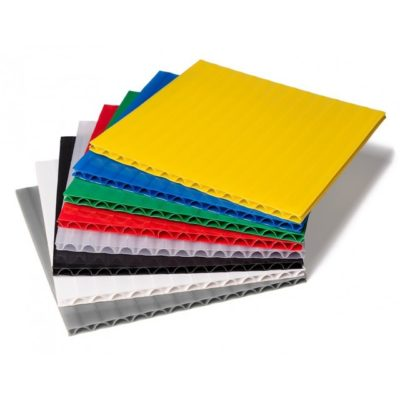 Laminated Polyethylene (HDPE) Laminated Polyethylene Corrugated Plastic Sheet Corrugated Plastic