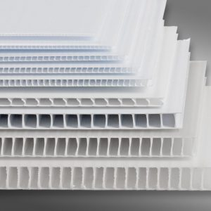 PP Plastic Corrugated Profile Sheet #25mm Polypropylene Profile Sheet - 48in x 96in