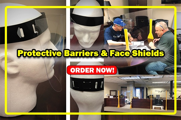 Protective Barriers & Face Shields