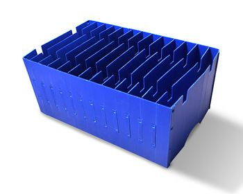 Straight Wall Tote With Dividers